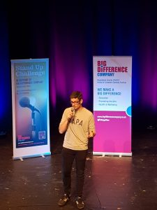Tim Cadman, Leicester Stand Up Challenge