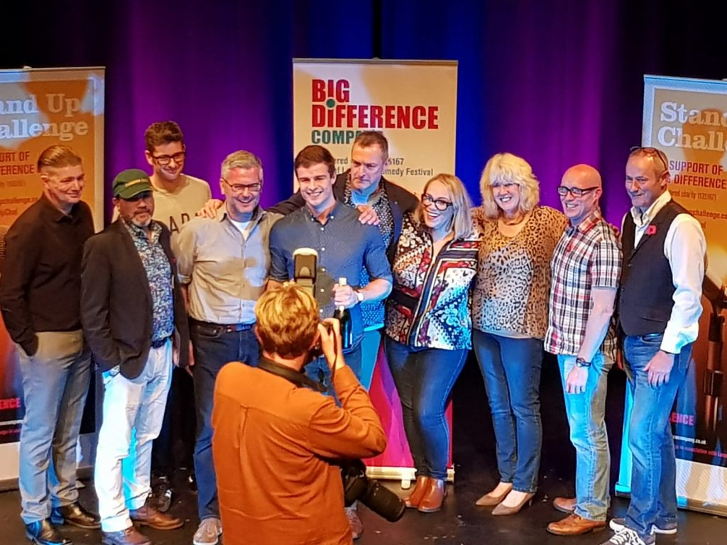 Leicester Stand Up Challenge 2018